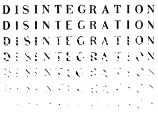 "Richard Kostelanetz's ""Disintegration"" – A Single Stroke of Genius"