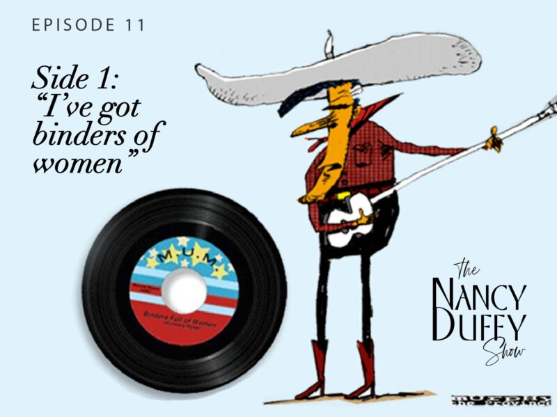 Ep. 11 Just How Assertive Are You? Take the Quiz! Plus – Discussions from 'Getting Stuck on Vinyl' to 'Binders of Women'.