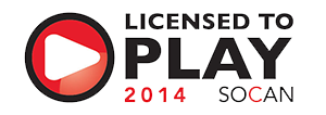Licensed to Play -SOCAN