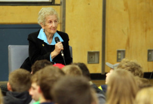 Eva Olsson, Holocaust Survivor and Speaker