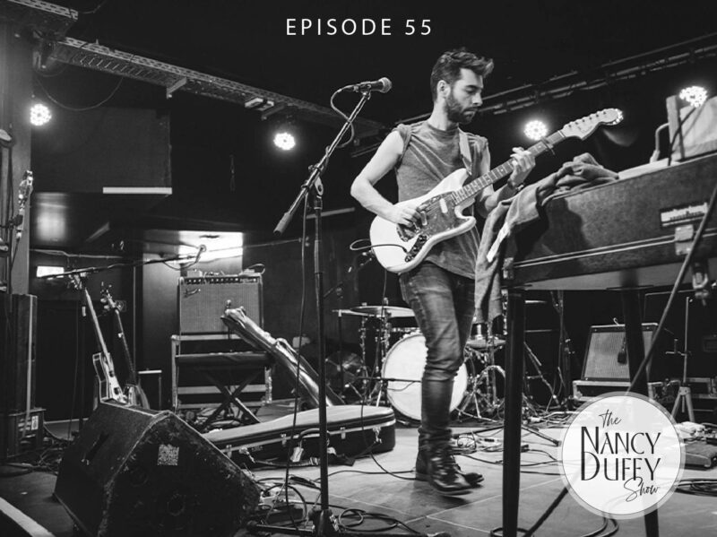 Ep. 55. The Nancy Duffy Show, Canadian Singer/Songwriter, Leif Vollebekk. Photo by Jessie McCall