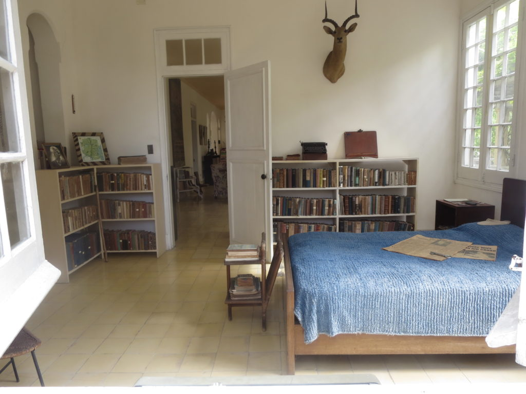 Hemingway's Bedroom. Photo by Cheryl Porter.