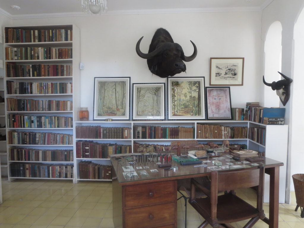 Where the work was done - Hemingway's desk. Photo by Cheryl Porter.