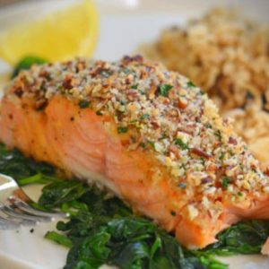 Recipe for Tara's thyroid-friendly fresh salmon dish