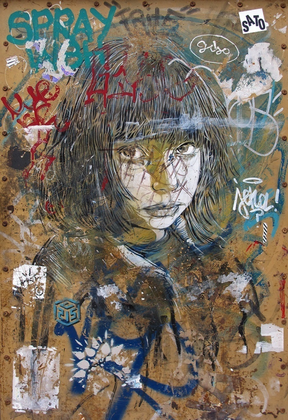 C215 Annotated, Barcelona 2016, Photograph by Marshall Soules