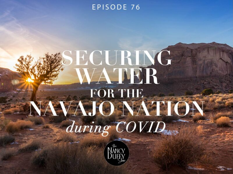 Securing Water for The Navajo Nation during COVID-19